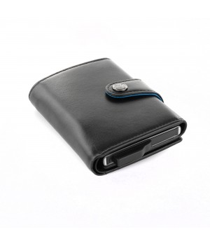 IRON BOOK CREDIT CARD HOLDER WITH CASH POCKET