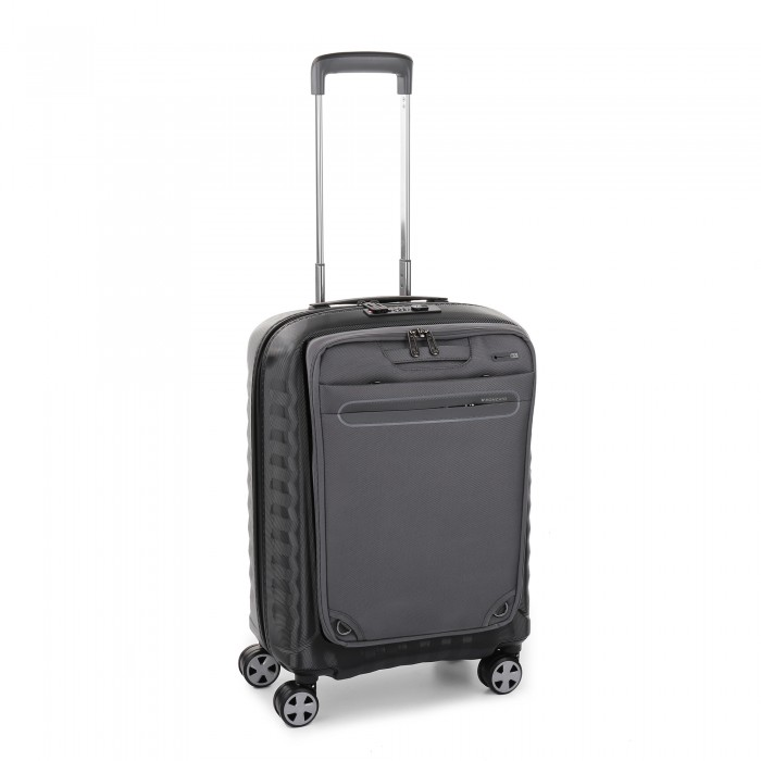 DOUBLE PREMIUM TROLLEY CABINA EXPANDABLE WITH REMOVABLE BACKPACK FOR 15,6' LAPTOP AND TABLET 10'