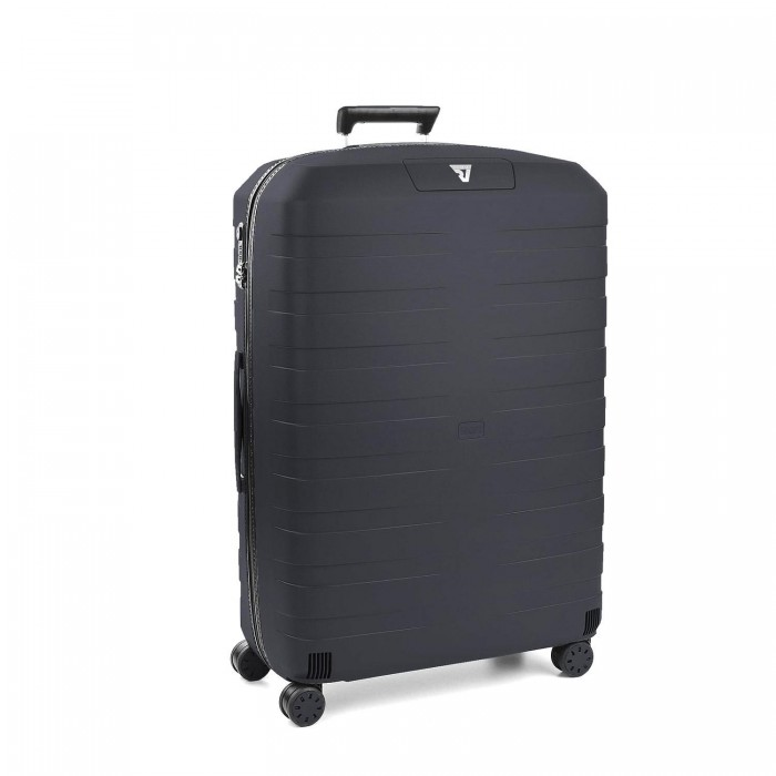 RONCATO BOX 2.0 LARGE TROLLEY 4 WHEELS BLACK/ANTHRACITE