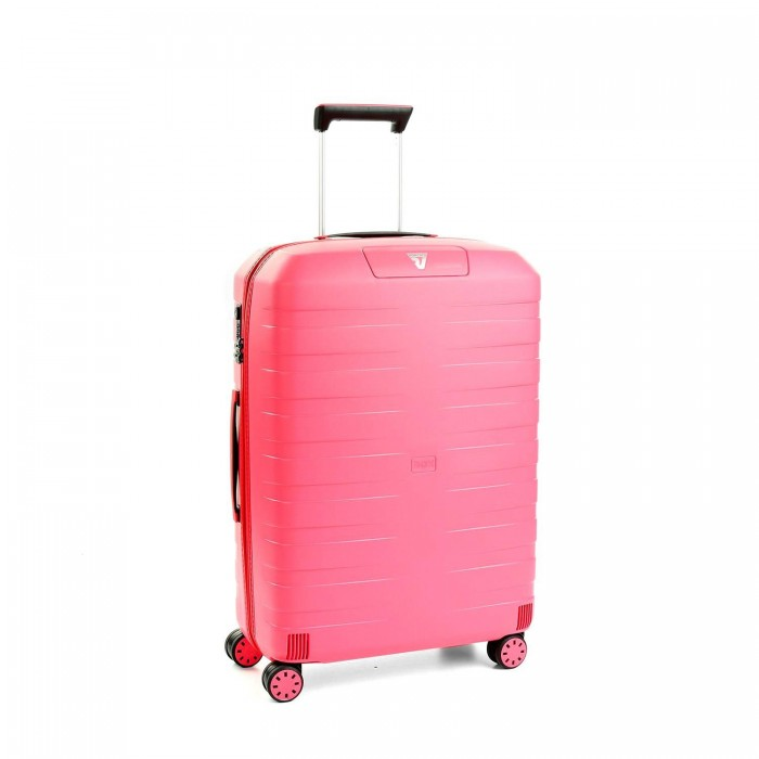 RONCATO BOX 2.0 MEDIUM TROLLEY 4 WHEELS PINK/PINK